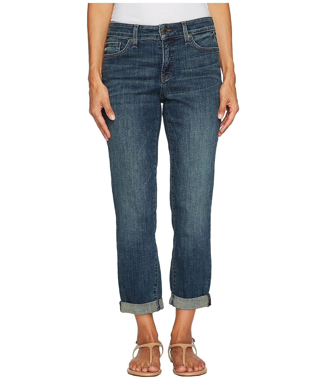 [エヌワイディジェイ] NYDJ Petite レディース Petite Boyfriend Jeans in Crosshatch Denim in Desert Gold ジーンズ [並行輸入品] B075HS85C8 14P|Desert Gold Desert Gold 14P