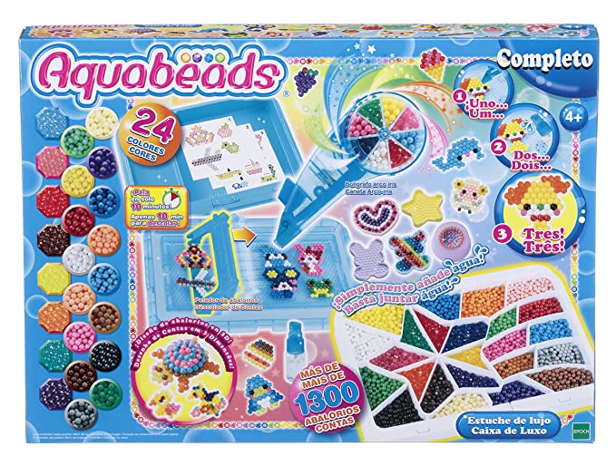 Aquabeads- Estuche de Luxe (Epoch para Imaginar 32789)