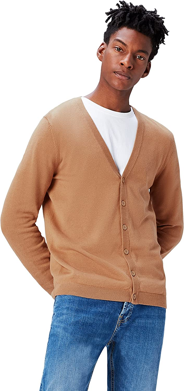 find. Men's Cotton Button Down Cardigan