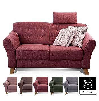 Cavadore sofá de 2 plazas/Moderno sofá en Estilo rústico con ...