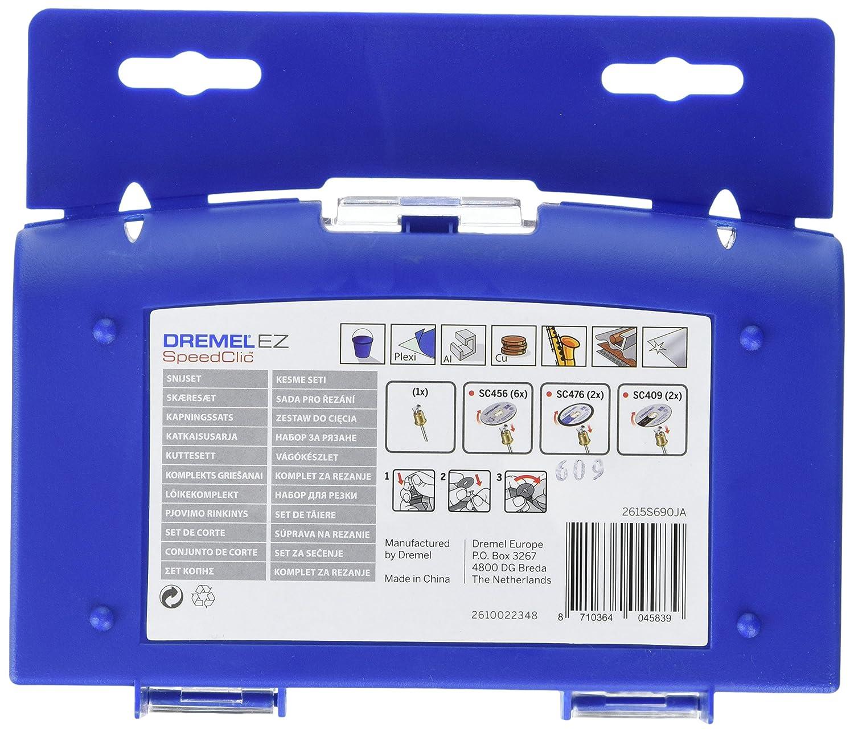 Dremel Multitool 4000-4//65 EZ 175 Watt, 65tlg. Zubeh/ör Set, im Koffer