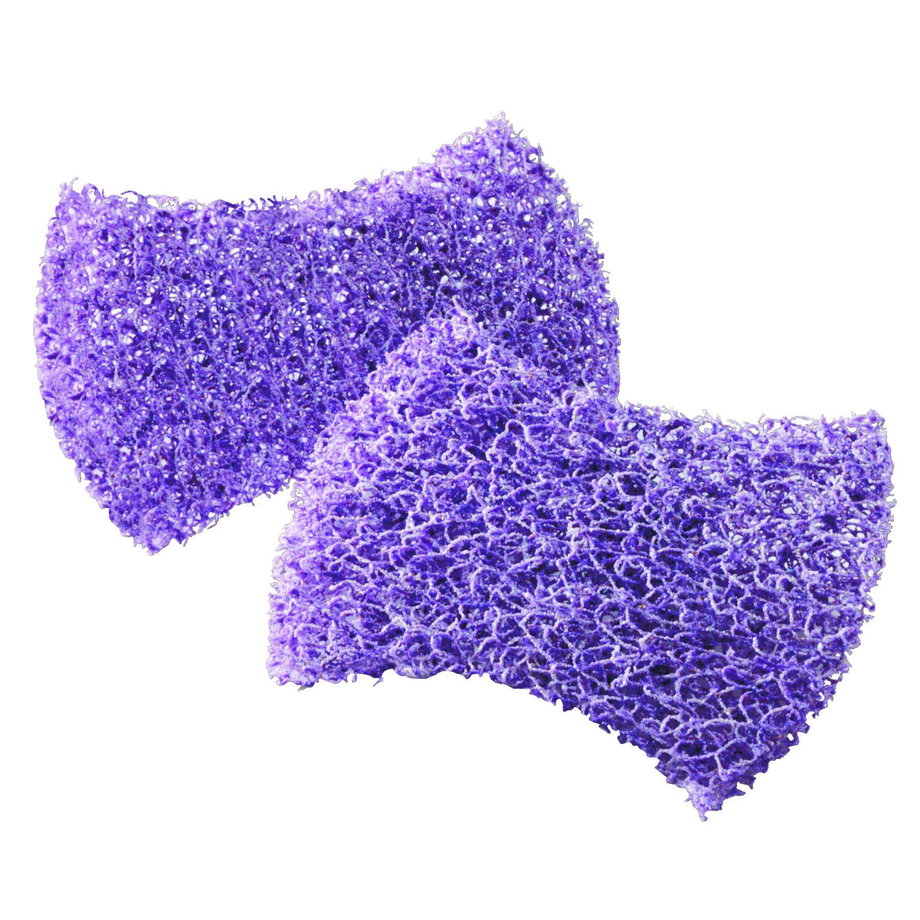 Scotch-Brite PROFESSIONAL 59033 Scour Pad, 2 3/4 x 4 1/2, Purple, 4 per Pack (Case of 6 Packs)