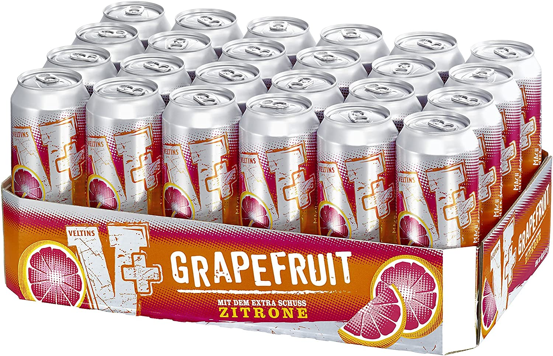 V+ Grapefruit Biermischgetränk (24 x 0.5 l Dose): Amazon.de: Bier ...