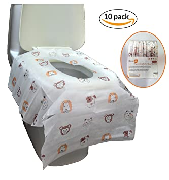 large toilet seat covers. Disposable Toilet Seat Covers  Extra large size perfect for toddlers potty training and great Amazon com