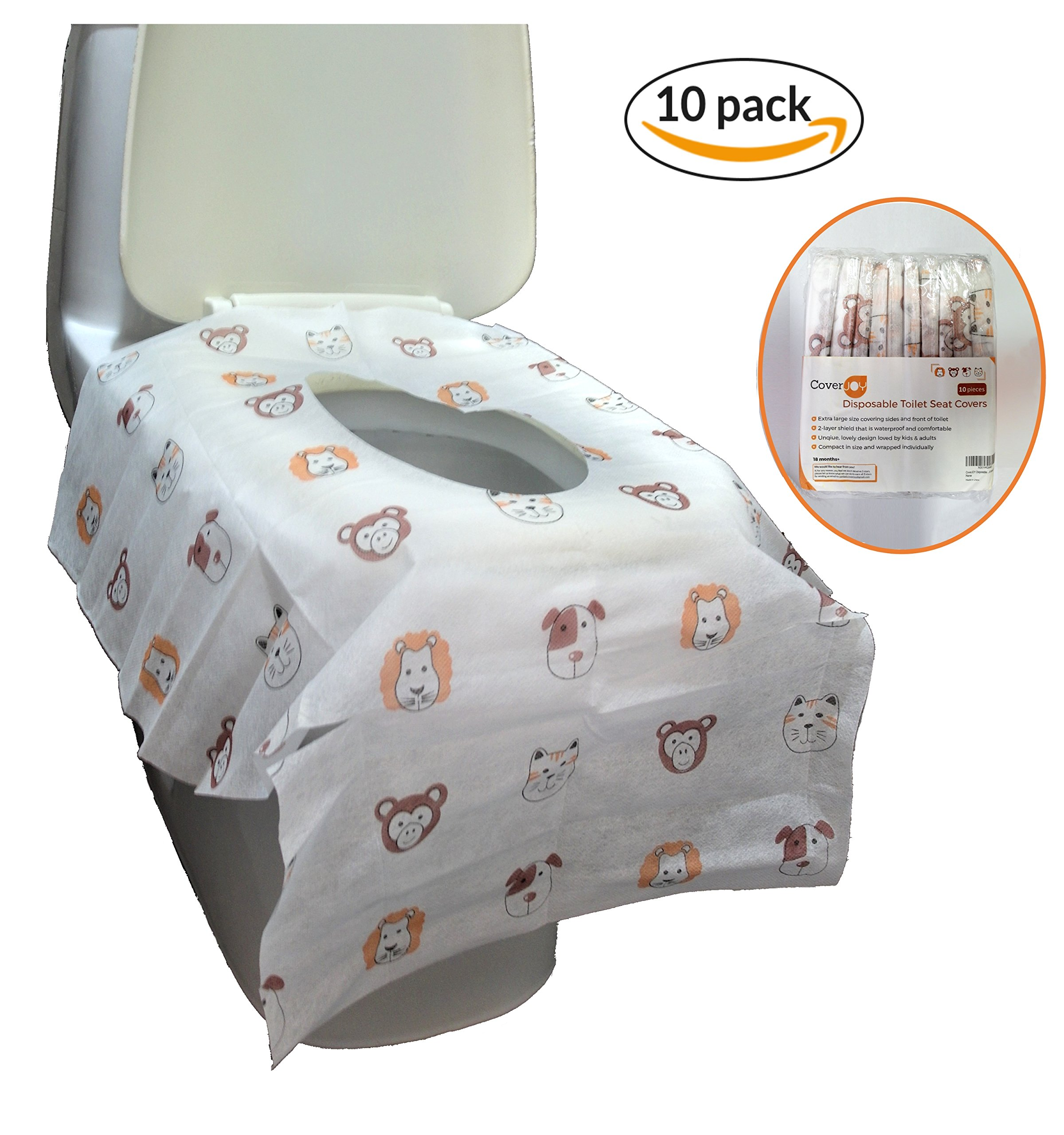 Amazon Com Pottycover Disposable Toilet Seat Covers