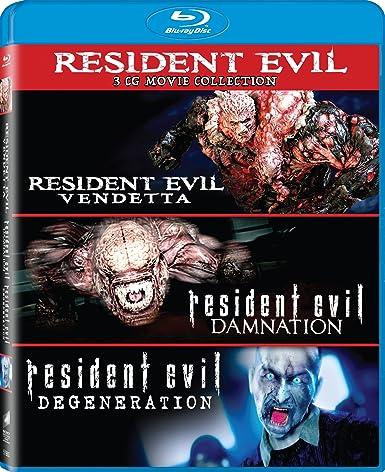 Resident Evil: Damnation / Resident Evil 3 Blu-Ray Edizione: Stati ...