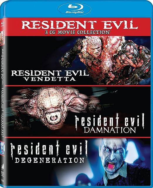 Resident Evil: Damnation / Resident Evil 3 Blu-Ray Edizione: Stati Uniti Italia Blu-ray: Amazon.es: Cine y Series TV