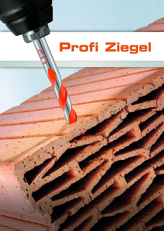 87 Alpen 35300800100 Cavity Brick Drill BitProfi with Cylindrical Shank 5//16 x 7