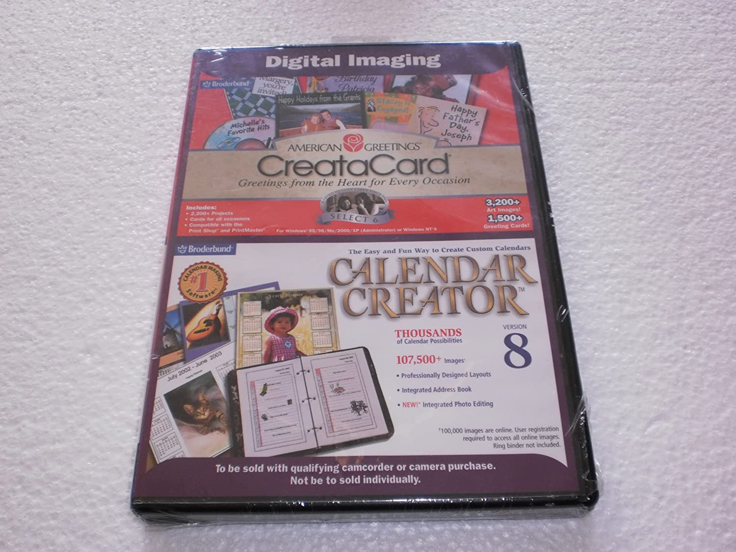 Amazon american greetings creatacrad select 6 calendar creator 8 m4hsunfo