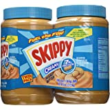 Skippy Creamy Peanut Butter-48 oz, 2 ct