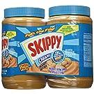 Skippy Creamy Peanut Butter - Creamy 48 oz. (Pack of 2)