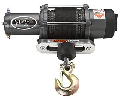 Viper Elite 5000lb UTV SXS Wide Spool Winch