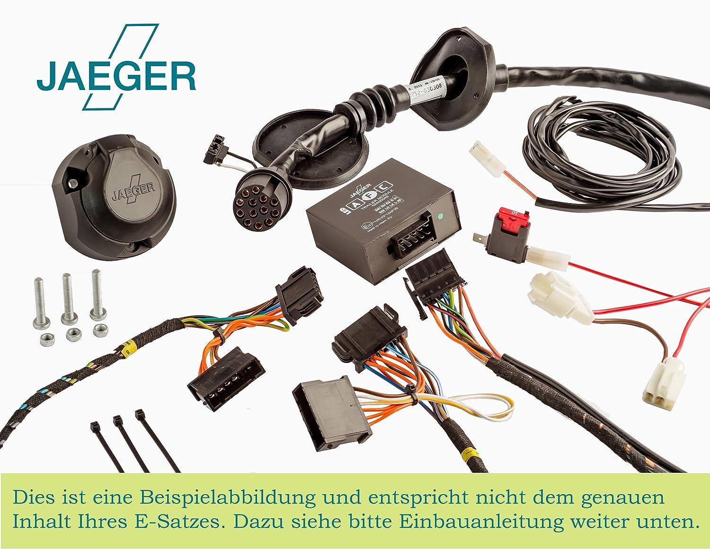 21270555ZM3 Jaeger 13 poliger spezifischer Elektrosatz f/ür VW T5 Kastenwagen//Kombi 2011