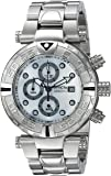 Invicta Men's Quartz Stainless Steel Casual Watch, Color:Silver-Toned (Model: 24982)