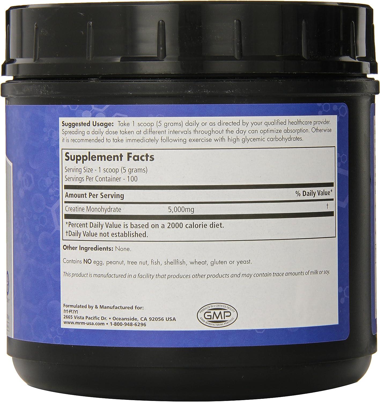 MRM Creatine Monohydrate 500, 1.1-Pound Plastic Jars