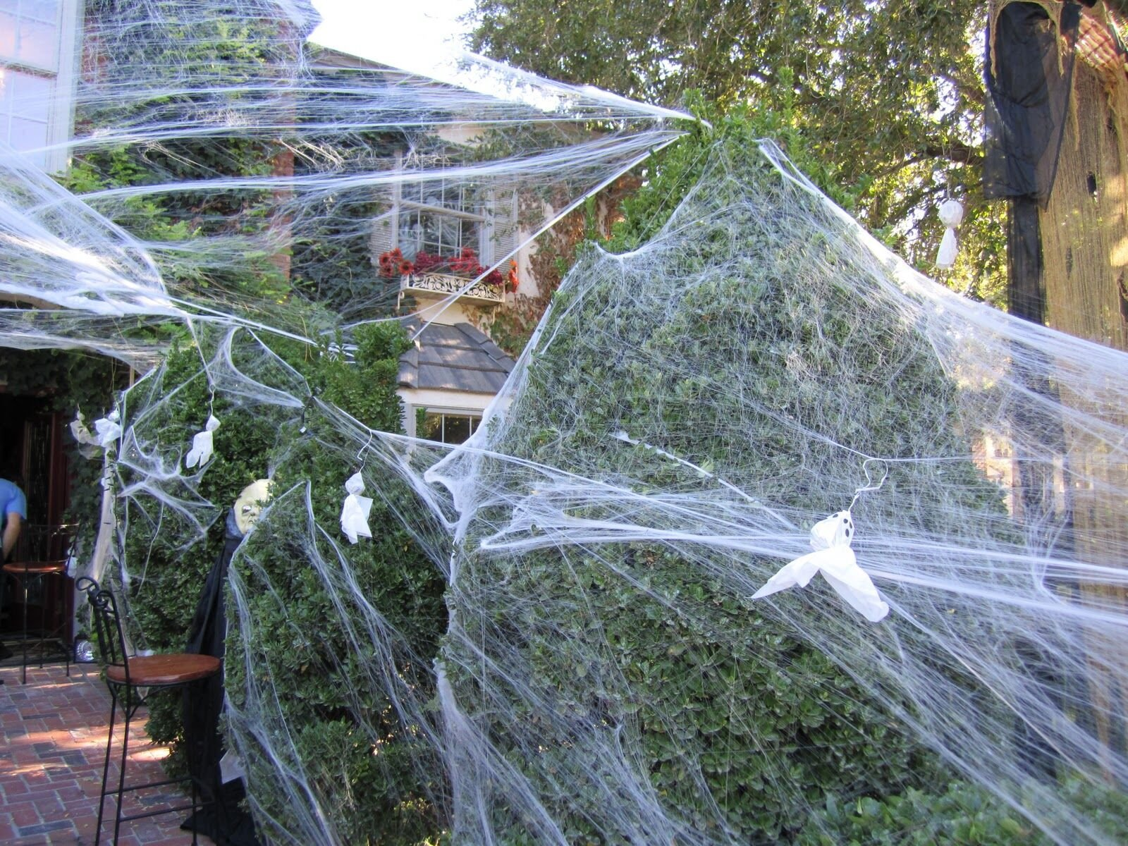 90shine 1100 sqft Fake Spider Web Halloween Party Outdoor ...