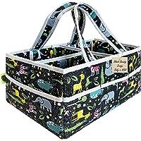 Diaper Bag Organizer Newborn Boy-Extra Large Caddy Organizer, Portable Nursery Organizer Baby Basket for Baby…