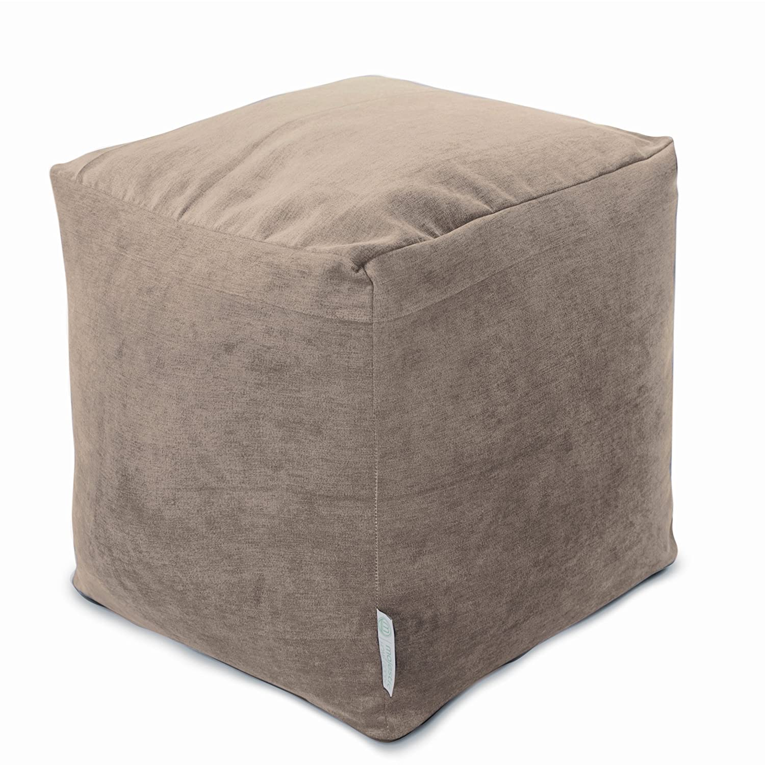 Majestic Home Goods Apple Villa Indoor Bean Bag Ottoman Pouf Cube 17