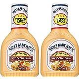 Sweet Baby Rays Dipping Sauce - Rays Secret Sauce - Net Wt. 14 FL OZ (414 mL) Per Bottle - Pack of 2 Bottles