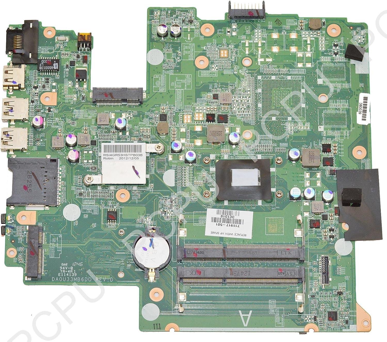 HP Sleekbook 14-1000 Laptop Motherboard W8STD w/ Intel i3-2375M 1.5Ghz CPU, 718917-501
