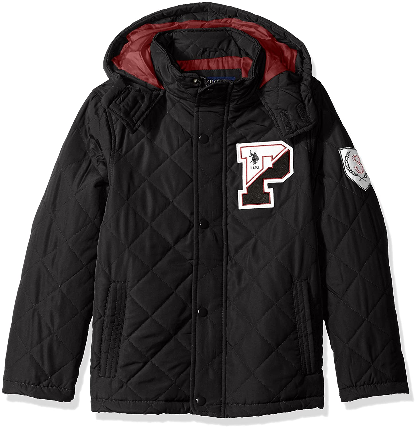 U.S. Polo Assn Boys' Outerwear Jacket (More Styles Available)