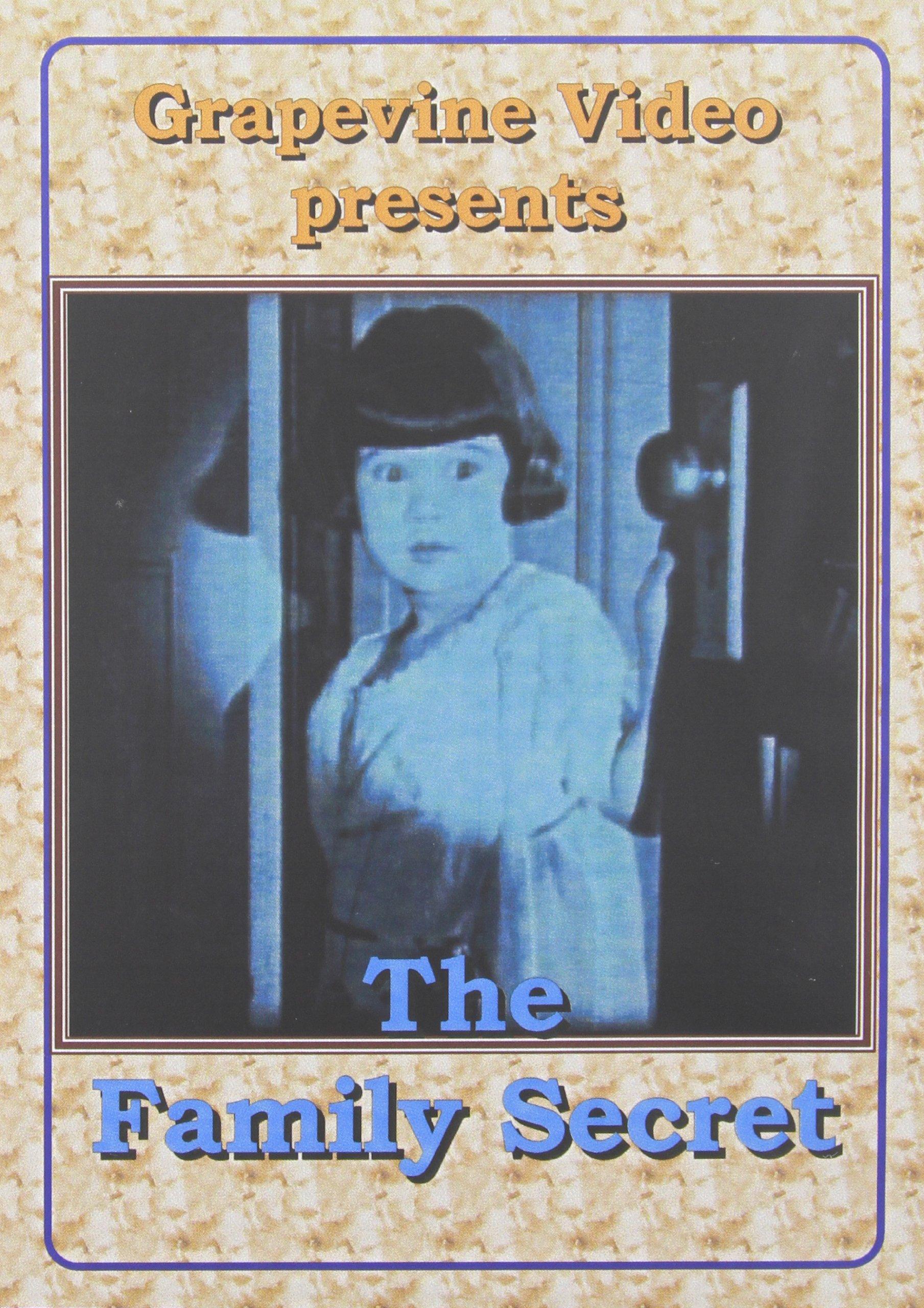 DVD : The Family Secret (Black & White, Silent Movie)