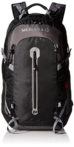d507ad52840 Amazon.com | Merrell Myers Backpack, Black, One Size | Casual Daypacks