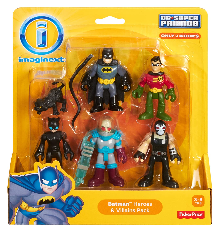imaginext  : Fisher-Price Imaginext DC Super Friends, Batman Heroes ...