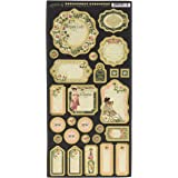 Graphic 45 4501514 Portrait of A Lady Journaling Chipboard