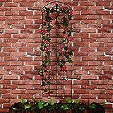 1. GO Metal Garden Trellis Panel Arch for Climbing