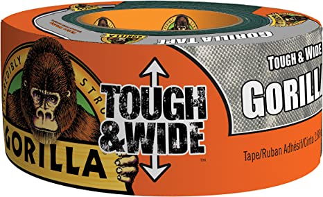 GORILLA EXTRA THICK TOUGH TAPE 48MM x 11M SILVER
