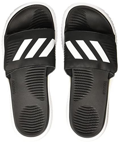 580b1dd7b3b Adidas Men s Alphabounce Slide Ftwwht Cblack Ftwwht Flip-Flops - 11 UK India  (46 EU)  Buy Online at Low Prices in India - Amazon.in