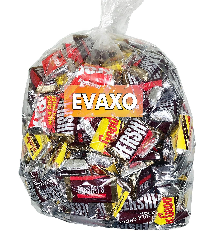 LUV BOX including HERSHEY'S Miniatures Chocolate Candy Assortment, 5 pound Bulk box