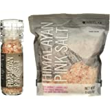 Westlab Himalayan Pink Salt - 4oz. Grinder with Free 1lb Refill Pouch (Coarse)