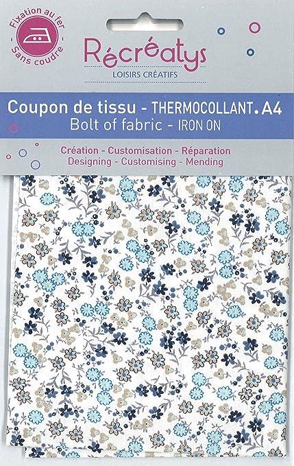 1fee0cb814 Récréatys 4613 0 2 - Scampolo di Tessuto termoadesivo in Cotone ...