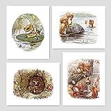 Peter Rabbit Beatrix Potter Envelope Cushion Cover 16x16 Inch Baby Nursery