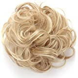 OneDor Synthetic Clip on/in Messy Hair Bun Extension Chignon Hair Piece Wig (16H613)