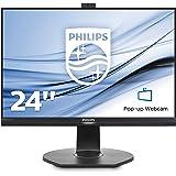 """Philips Brilliance Moniteur LCD avec PowerSensor 241B7QPJKEB/00 - Écrans plats de PC (60,5 cm (23.8""""), 1920 x 1080 pixels, LCD, 5 ms, 250 cd/m², Noir)"""