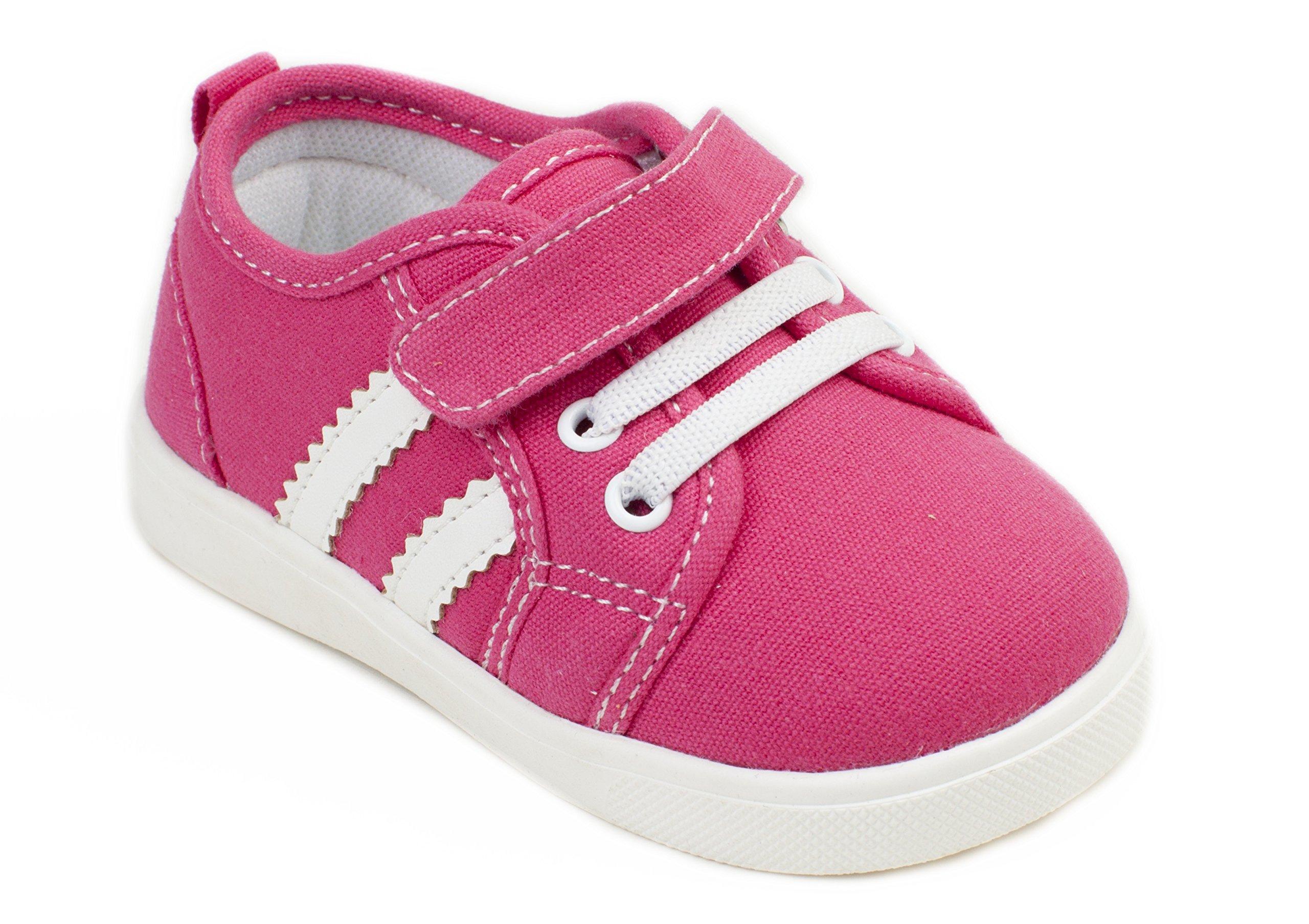 Wee Squeak Tennis Shoe Hot Pink - Size 9