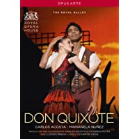 Minkus: Don Quixote (Ballet) [Martin Yates, Carlos Acosta, Cast and Orchestra of the Royal Opera House] [DVD] [2014] [NTSC]