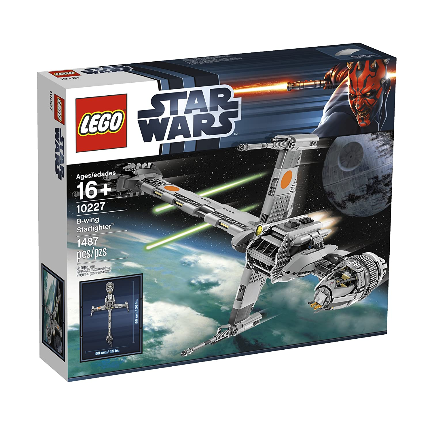 Lego Star Wars 6208 Bwing Fighter Amazon Toys Games