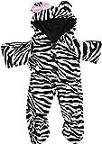 construire votre Ours Armoire Zebra tout-en-un Teddy Tenue de vêtements pour Construire un ours Teddies (Noir/blanc)