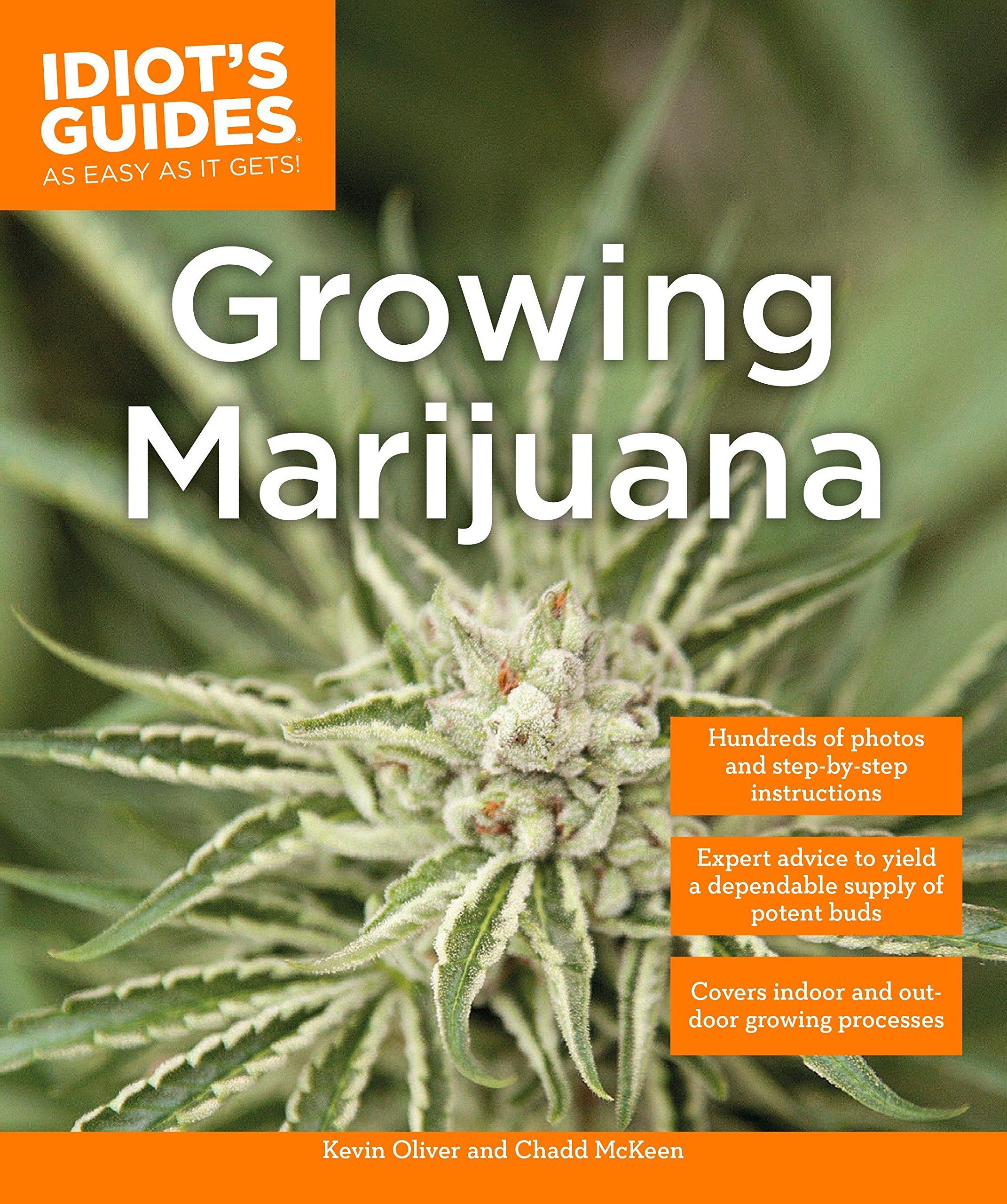 Amazon Growing Marijuana Idiots Guides 9781615648948