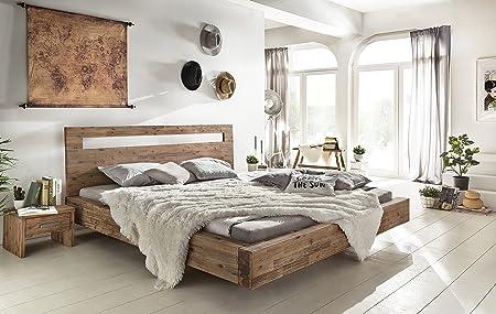 Woodkings® Holz Bett 180x200 Marton Doppelbett Verschiedene Hölzer  Schlafzimmer Massivholz Design Doppelbett Schwebebett Massive Naturmöbel ...