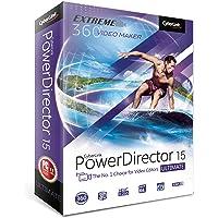 Cyberlink PowerDirector USB Óptico 800DPI Negro mouse