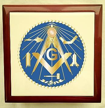 Amazoncom Masonic Jewelry BoxGWT Home Kitchen