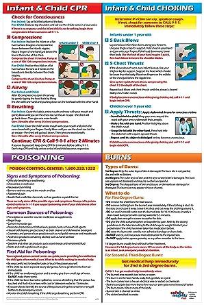 Amazon.com: Infantil/Niño CPR, asfixia, intoxicación ...