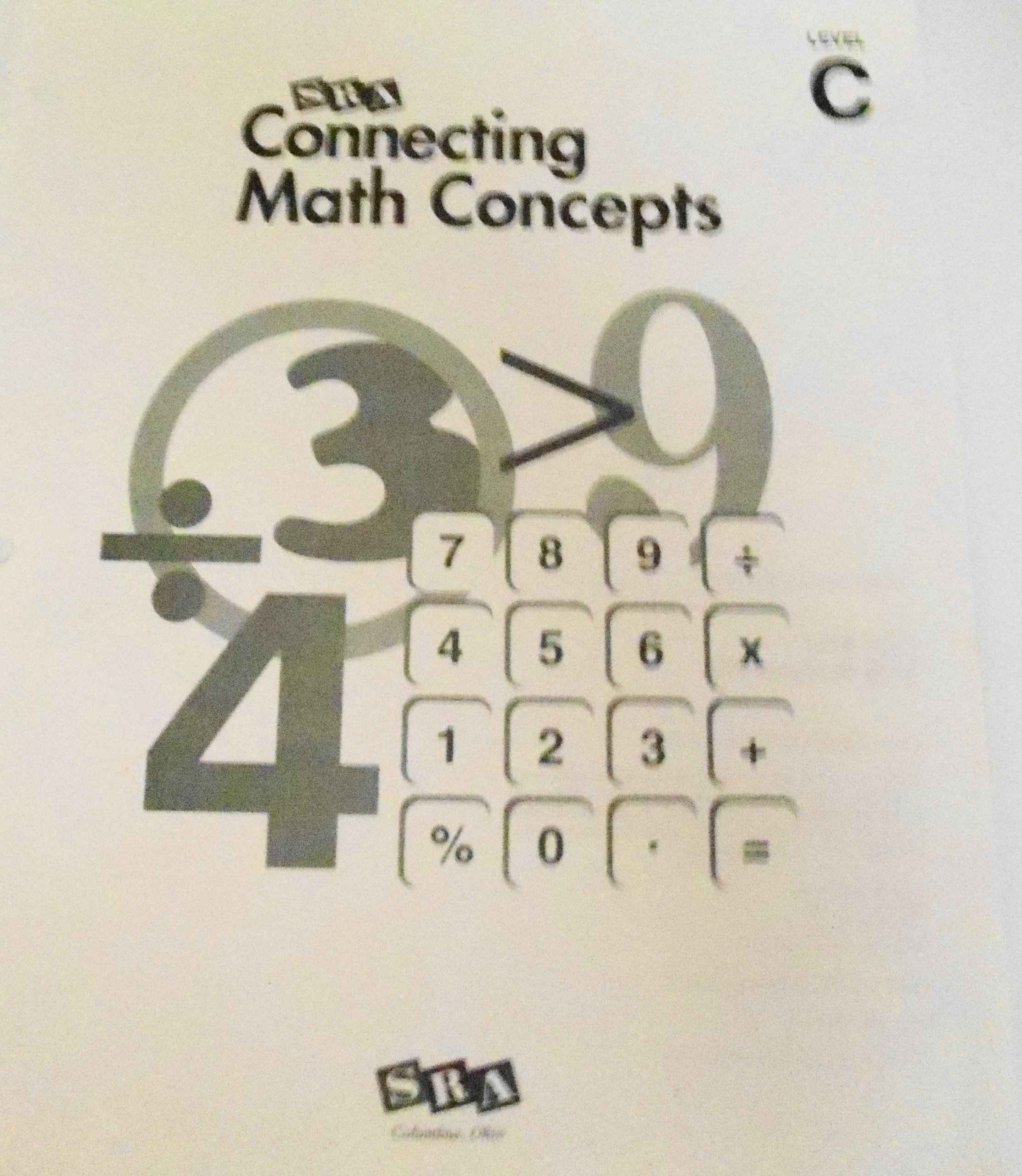 Connecting Math Concepts Math Fact Worksheets, Level C