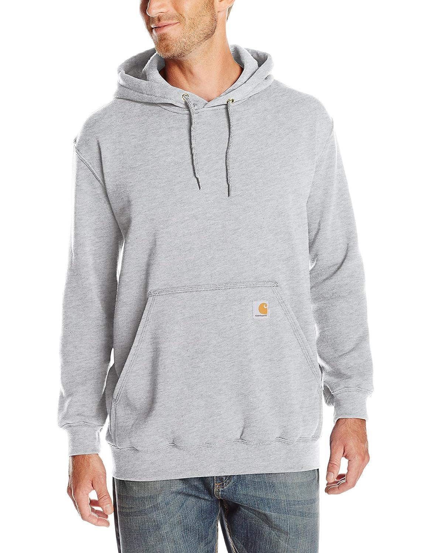e2f4f7745 Carhartt Mens Midweight Hooded Sweatshirt Solid Long Sleeve Shirt