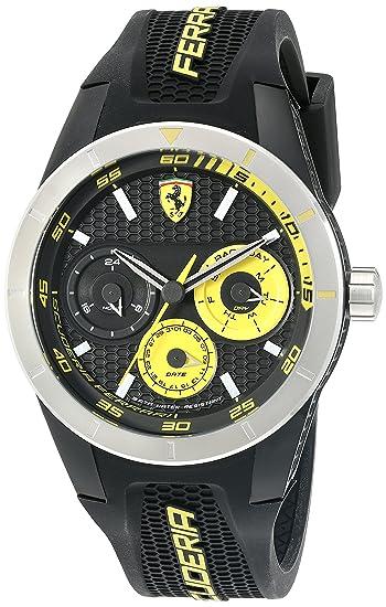 Ferrari Malla Me Up Cuarzo: Batería JAPAN Reloj 0830257: Amazon.es: Relojes